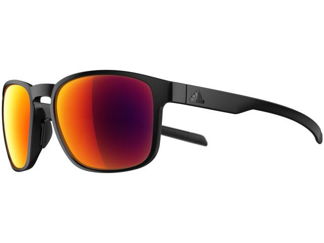 adidas Protean Glasses black matt/red mirror